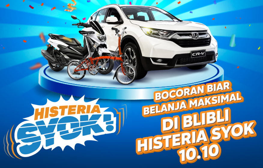 Program Serba Shock di Harbolnas Ala Blibli.com